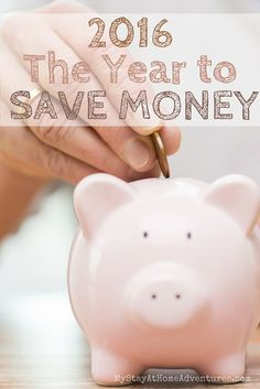Make 2016 the best financially successful year with these 20 ways to save money. Follow these tips and saving money you shall!