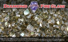 Copper Canyon Premixed Fire Pit Glass Crystals