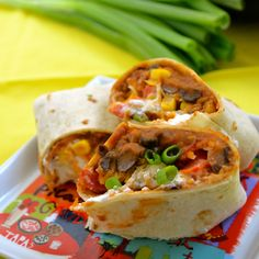 Healthy Bean Burritos