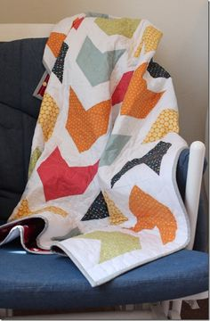 Pow Wow Boy Quilt by Crafty Cupboard
