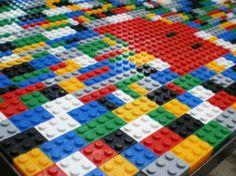 Table basse #lego - Par franckbber sur le #cdb