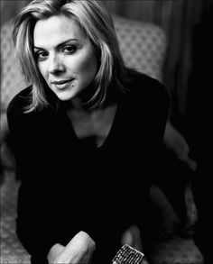 Kim Cattrall - the actress that totally holds SATC together, and a genuinely funny lady.