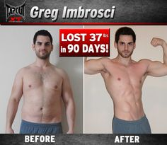 Greg lost 37 inches with TapouT XT and earned his 6 pick abs!