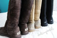 I love Uggs. They are so comfy and warm.