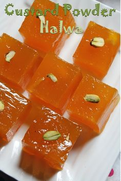 I love jelly type halwas, my favourite one is a fruit halwa which is available in our near by bakeries. It is jelly like, full of fruit. Indian Dessert Recipes, Indian Sweets, Indian Snacks, Sweets Recipes, Easy Desserts, Cooking Recipes, Easy Cooking, Easy Sweets, Fruit Recipes