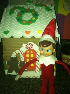 More elf on the shelf antics thanks Jerseyfamilyfun.com