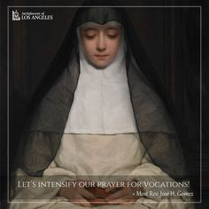 Pray for vocations!