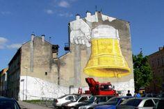 Mural Blu w Krakowie  Piwna (Józefińska), Kraków, małopolskie