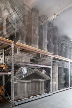edoardo tresoldi studio visit: capturing the poetry of absence with wire mesh Source by bessarab Conceptual Sketches, Conceptual Design, Gabion Stone, Floating Boat, Water Pictures, Wire Mesh, Italian Artist, Installation Art, Interior Architecture