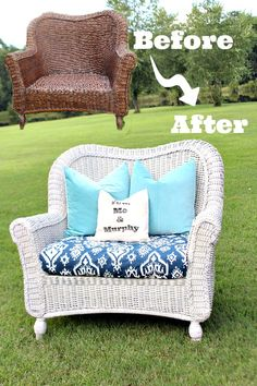 How to spray paint the difficult stuff, like wicker, dining chairs and curvy headboards. Homeright Finish Max Sprayer
