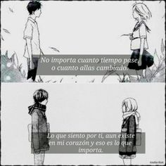 Ao haru ride frases anime by touka kun Jhon Green, Good News, Anime Amor, Distance Love, Motivational Phrases, Romantic Things, Sad Girl, Kaneki, Shoujo