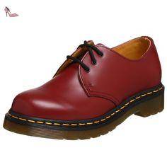 Dr. Martens Air Wair Femmes US 10 Rouge Oxford EU 42 1461 - Chaussures dr martens (*Partner-Link)