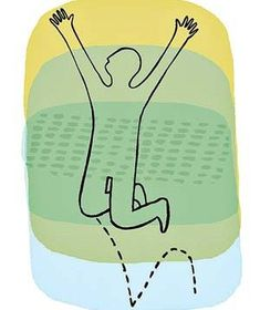 Man jumping | Surprising ways to instantly improve your mood.