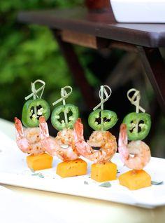 Spicy Chardonnay Shrimp with Mango and Jalapeño