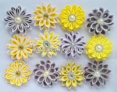 Wedding flowers for tables and cake 3 inches от LIKKO на Etsy