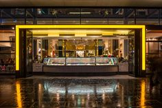 Calatrava - Red Design Group Melbourne, Food Court, Red Design, Cafe Bar, Jukebox, Mansions, House Styles, Group, Home Decor