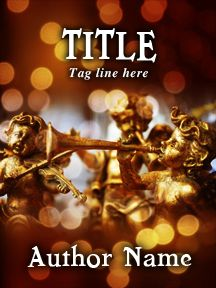 Angels and Christmas Lights - Customizable Book Cover  SelfPubBookCovers: One-of-a-kind premade book covers where Authors can instantly customize and download their covers, and where Artists can post a cover and name their own price.