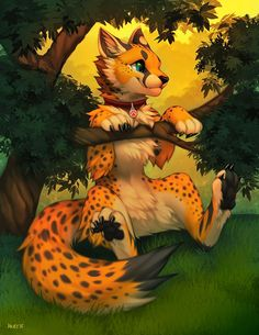 Cheetah furry