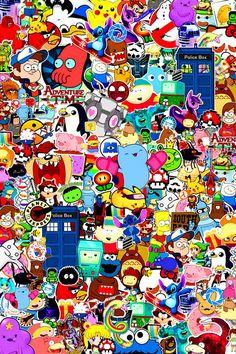 Find the best HD Retina Wallpaper iPhone 6 on GetWallpapers. Cartoon Wallpaper, Sticker Bomb Wallpaper, Hd Wallpaper Für Iphone, Graffiti Wallpaper, Screen Wallpaper, Cool Wallpaper, Wallpaper Backgrounds, Hipster Wallpaper, Iphone Cartoon