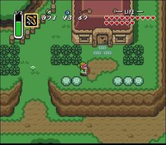 The Legend of Zelda - A Link to the Past (Super Nintendo)