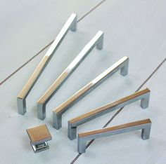 Modern Kitchen Handles contemporary square cabinet pull | bath, squares and stone