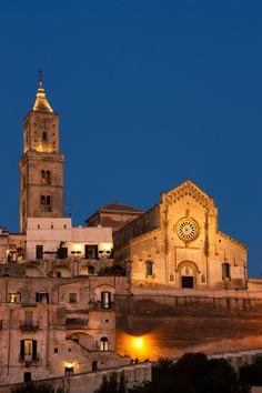 Cattedrale della Madonna della Bruna e di Sant'eustachio, Matera, Italy #capitalecultura2019 #Matera2019 Trovato su https://www.flickr.com/photos/bricasa/7857513870/in/set-72157631166653526
