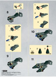Star Wars - General Grievous Starfighter [Lego 8033]