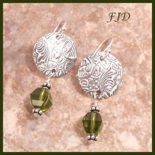 Fine Silver and Sterling Silver Earrings