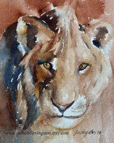 Gorgeous watercolor art by rachelle levingston