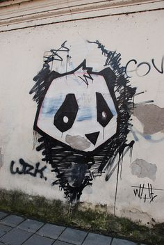 graffiti panda - Google Search Graffiti Art, Graffiti Drawing, Panda Art, Panda Panda, Drawing Sketches, Drawings, Panda Love, Bunt, Squirrel