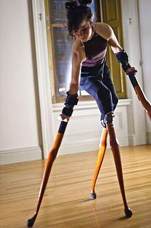 Lisa Bufano (1972-2013) - After losing her lower legs, fingers and thumbs, Bufano began her performance and dancing career when a professor doing research on the lives of amputees discovered her web page and offered her a stipend to perform in Vienna. Took her own life at the age of 40.