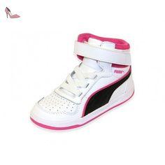 LIZA MID V JR BLC Chaussures Fille Puma