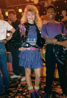 Kids Incorporated-Stacey Ferguson..future Black Eyed Pea singer!(RB)