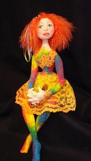 Doll designed by Pattie Culea