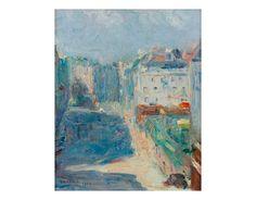 Ruas de Paris (1920), Tarsila do Amaral, Coleção particular.