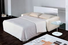 The Bonaldo Boston contemporary sofa bed has a solid wood frame & cushions filled with a feather mix. The easy to fold out bed consists of an electro-welded mesh, with elastic straps & a comfortable thick sprung mattress. Contemporary Sleeper Sofas, Modern Sleeper Sofa, Fold Out Beds, Italian Sofa, Mattress Springs, Best Mattress, Creative Decor, Wall Design, Designer