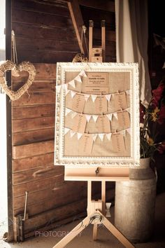 Bunting Table Plan