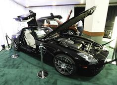This Mercedes-Benz SLS AMG Coupe will be on display when the 2013 Dayton Auto Show opens at the Dayton Convention Center. The show showcases 24 manufacturers and hundreds of cars. Show hours are noon-9 p.m. on Thursday and Friday; 10 a.m.-9 p.m. on Saturday; and noon-6 p.m. Sunday. Admission is $7. Children 12 and under are free when accompanied by a paid adult. CHRIS STEWART / STAFF