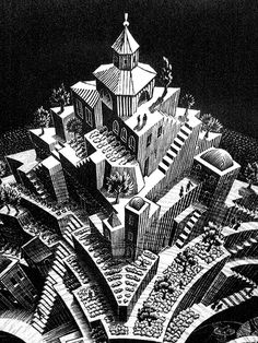 illustrazione di Maurits Cornelis Escher - #art