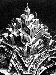 illustrazione di Maurits Cornelis Escher - #art