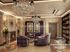 в КП «Villagio Estate» Дизайн интерьера коттеджа в стиле арт-деко в КП «Villagio Estate» - фото Furniture, House, Interior, Luxury, Ceiling Lights, Mansion Interior, Home Decor, Art Deco, Modern Interior