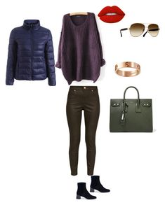 """""""Родственные оттенки"""" by katerina-tolochko on Polyvore featuring мода, Ted Baker, Yves Saint Laurent, Lime Crime, Chanel и Cartier"""