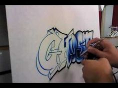ghost-airbrushed graffiti