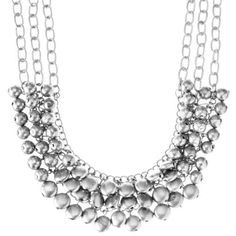 Fashion Necklace Chunky SIL Acrylic