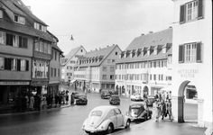 Willy Pragher, Freudenstadt, 1952. Loßburger Str. Landesarchiv Baden-Württemberg Abt. Staatsarchiv Freiburg - Dokumente