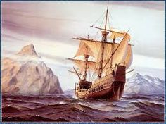 3) Mr. Walton arrived on the North and the expedition ship goes almost completely  stuck on the ice.