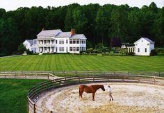Enormous farmhouse