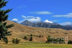Salmon Idaho Foothills And The Rocky Mountains: http://fineartamerica.com/profiles/robert-bales/shop/all/all/all