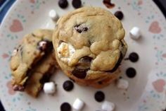 Brown Butter Chocolate Marshmallow Cookies