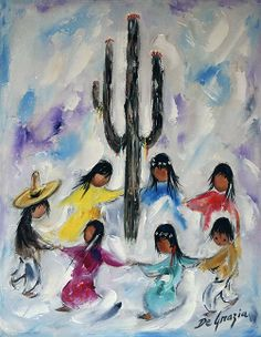 DeGrazia's beloved children of the sun. The Gallery in the Sun is open daily…